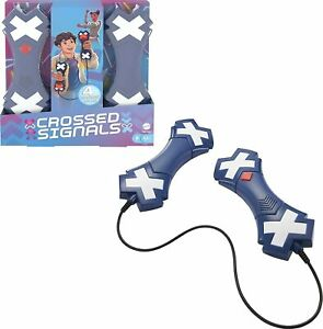 Mattel Crossed Signals Electronic Game with Pair of Talking Light Wands New 2021