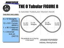 LIONEL O GAUGE TUBULAR FIGURE 8 TRACK PACK LAYOUT design 3 Rail lock on NEW