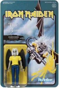 Icarus Eddie Iron Maiden Flight of Icarus Super 7 ReAction Action Figure New