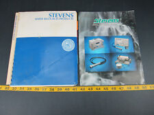 Stevens Water Resources Products & Monitoring Systems Bulletin Lot of 2 Logger L