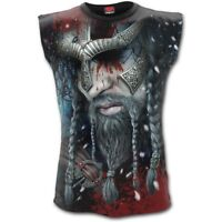 Spiral Direct VIKING WRAP - Allover Sleeveless T-Shirt Celtic/Biker/Rock/Tee/Top
