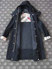 Burberry AUTH NWT Detachable Quilted Lining Hood Check Trims Parka 6 Harlington