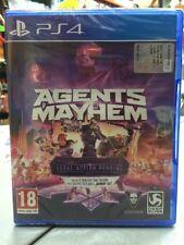 Agents Of Mayhem Day One Edition Ita PS4 NUOVO SIGILLATO