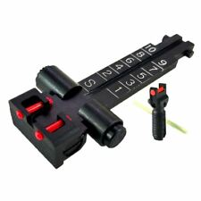 5.45 x 39 Fiber Optic Front and Rear Sight Set By Kensight