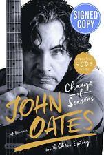 John Oates Change of Seasons SIGNED AUTOGRAPHED w/ bonus cd daryl hall and &