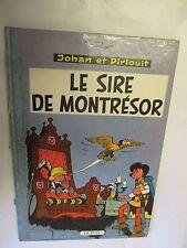 """Johan et Pirlouit T 8 de 1963 """"Le Sire de Montrésor"""" (Peyo) /Dupuis 1963"""