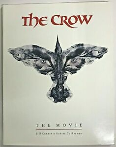 CROW THE MOVIE 1995 BOOK BEHIND THE SCENES KITCHEN SINK PUBLICATION (cover A)