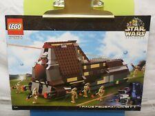 Lego Star Wars Trade Federation MTT 7184 Instruction Only