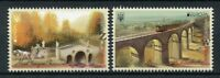 Ukraine 2018 MNH Bridges Europa 2v Set Bridge Architecture Stamps