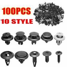 100Pcs Auto Car Plastic Rivet Fastener Clips Assorted for GM Ford Honda Chrysler