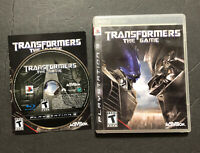 Transformers: The Game (Sony PlayStation 3, 2007) PS3 CIB Complete Free Shipping