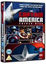 CAPTAIN AMERICA TRIPLE BOX SET NEW DVD