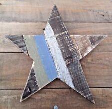 Estrella de madera rústica pared arte decoración por Shoeless Joe 28 Cm