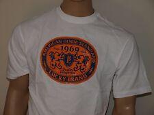 LUCKY BRAND Trademark Oversize T Shirt White NWT NWOT