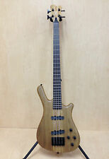 Haze 4-String Electric Bass Guitar Natural w/Free gig bag,Strap. |SPB-3213N|