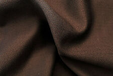 SUPER FINE150's PURE WOOL BLACK & BURGUNDY TWILL SATIN WEAVE MADE IN ITALY E149