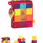 B. toys – One Two Squeeze Baby Blocks - Building Blocks for Toddlers – Educat...