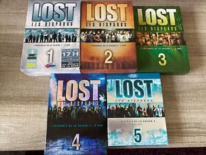 LOST Les Disparus - Saison 1 à 4 DVD & Saison 5 Blu-ray