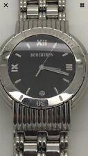 Gents BOUCHERON Solis Black dial Watch 36mm Stainless Steel Roman Dial