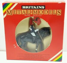 New Vintage Britains BLUES AND ROYALS MOUNTED STANDARD BEARER #7245
