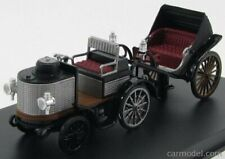 Rio-models 4374 scala 1/43 de dion bouton with trailer 1894 black brown