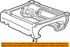FORD OEM E-350 Econoline Club Wagon Seat Track-Seat Support Left F7UZ1662527FFF