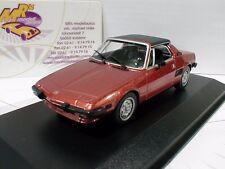 "Minichamps 940121662 # Fiat X1/9 Coupe Baujahr 1974 in "" rot-metallic"" 1:43 NEU"