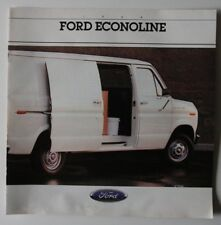 FORD ECONOLINE 1988 dealer brochure - French - Canada - HS1002000918
