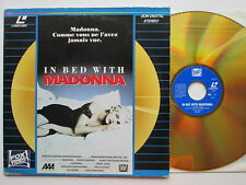 LD LaserDisc MADONNA IN BED WITH MADONNA FOX VIDEO 1991 FRA  PAL