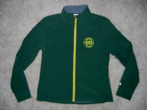 OREGON DUCKS Football Track Green SOFT SHELL JACKET Coat Size Kid YOUTH XL 16/18