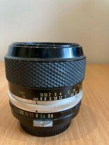 NIKON micro - NIKKOR- PC Auto 1:35 f=55mm 806162  lens
