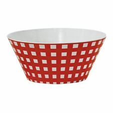 Melamine Round Mixing Bowl - Red
