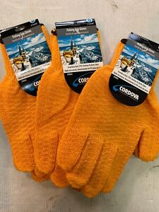 Lot Of 3 Pairs Cordova Fishing Grip Gloves Size XL BRAND NEW