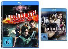 2 Blu-rays * RESIDENT EVIL : DAMNATION + DEGENERATION IM SET  # NEU OVP <