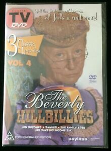 THE BEVERLY HILLBILLIES 3 Classic Episodes Vol 4 ~ Buddy Ebsen, Irene Ryan DVD