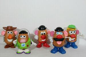 x5 Mr Potato Head Bundle - Toy Story - Buzz Lightyear, Woody + others creative
