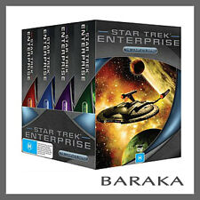 Star Trek Enterprise Full Journey Complete Seasons Series 1 2 3 4 DVD Box Set R4
