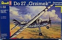 Revell 1/32 Dornier Do 27 Grizimek Serengetti Version D-Ente Zebra Livery 4745