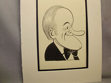Bob Hope  Caricature Drawing from Studio 54 New York Famous Faces artist