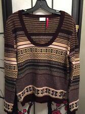 TSE Women's 100% Cashmere  Crewneck Long Sleeve sweater, size XL