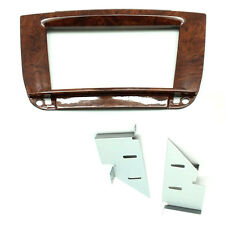 CT23MB21 Mercedes CL 1999-2006 C215 Double Din Car Stereo Fascia Panel