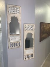 Fireside home and garden shabby chic wall mirrors