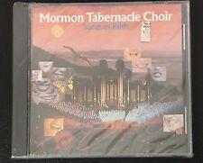 Songs of Faith by Mormon Tabernacle Choir AUDIO CD 10 Tracks