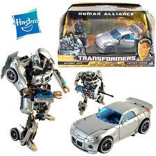 HASBRO TRANSFORMERS AUTOBOT JAZZ CAR CAPTAIN LENNOX ACTION FIGURE ROBOT KID TOY