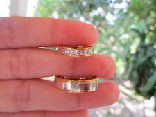 .18 Carat Diamond Twotone Wedding Ring Code WD030 14k sepvergara
