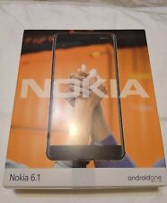 "Nokia 6.1 (2018) - 32GB - Unlocked Smartphone (AT&T/T-Mobile) - 5.5"" (Black)"