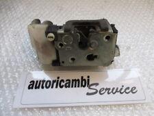 FIAT PUNTO 2' 1.2 BENZ 44KW 60CV 3P 5M (2002) RICAMBIO CHIUSURA SERRATURA PORTA