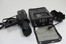 1982 Panasonic VHS-C Video Camera Camcorder WV-3060 & JVC HR-C3, PARTS or REPAIR