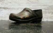Womens Sanita Slip On Clog Shoes Sz 39 8.5  Comfort Casual Unique Design Used