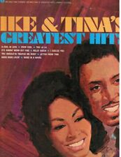 Ike & Tina Turner Greatest Hits soul electricStErEo Lp original Sue sessions Vg+